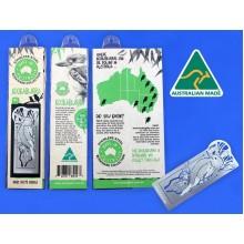 Bookmark - Kookaburra. Stainless Steel Bookmark
