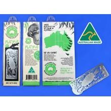 Bookmark - Platypus. Stainless Steel Bookmark