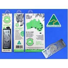 Bookmark - Wombat. Stainless Steel Bookmark