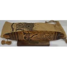 Aboriginal Bullroarer - Hand Burnt