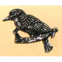 Lapel Pewter Pin - Kookaburra