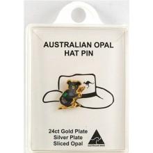Opal Chip Pin - Koala
