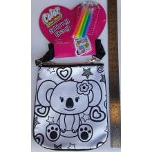 Paint Your Own Koala Sling Bag