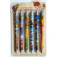 Souvenir Pen Set - Colorful Australia