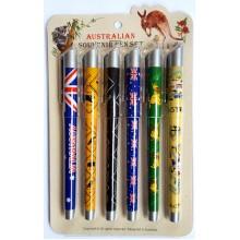 Souvenir Pen Set - Australiana