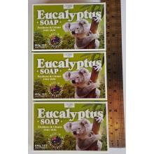 Australian Made Soap - Eucalyptus Soap, 3 packs