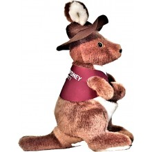 Corporate Kangaroo Toys in Branded Jackets