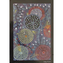 Aboriginal Art Print - Coral Reef