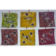 Aboriginal Art Painting on Canvas - 10x10cm - Contemporary Art