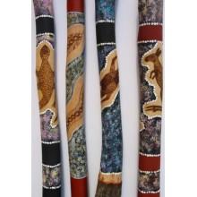 Didgeridoo Mallee Paint Burnt