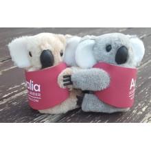 Promotional Clip-on Koala Toys | Koala in Branded Jacket