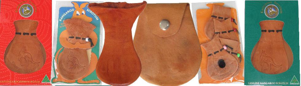 Kangaroo Scrotum Bags