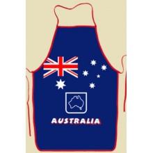 Souvenir Kitchen Apron - Australian Flag