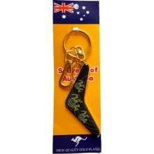 Boomerang Key Ring - Kangaroos