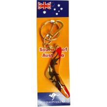 Boomerang Key Ring - Kangaroos Sunset