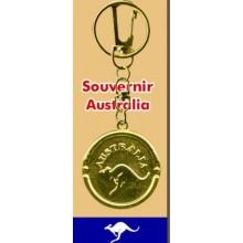 Medal Key Chain - Australia