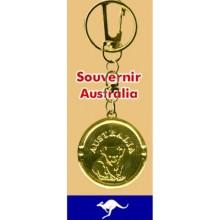 Medal Key Chain - Australia Koala
