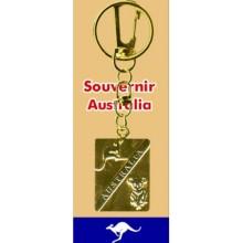 Medal Key Chain - Kangaroo and Koala