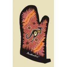 Souvenir Oven Mitt - Australian Aboriginal Art