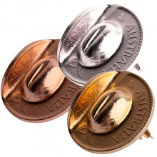 ANZAC Gift - Australian Penny Lapel Pin