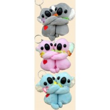 Soft Toy Key Chain - Koala in Love