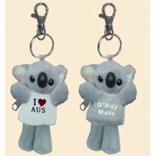Soft Toy Key Chain - Koala I Love Australia
