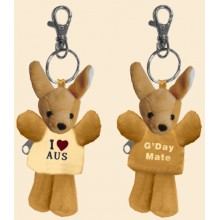Soft Toy Key Chain - Cute Kangaroo
