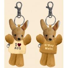 Soft Toy Key Chain - Cute Kangaroo