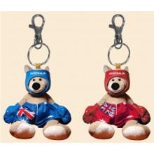 Soft Toy Key Chain - Boxing Kangaroo