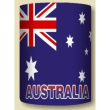 Australian Souvenir Stubby Holder with Australian Flag