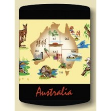 Australian Souvenir Stubby Holder - Map of Australia