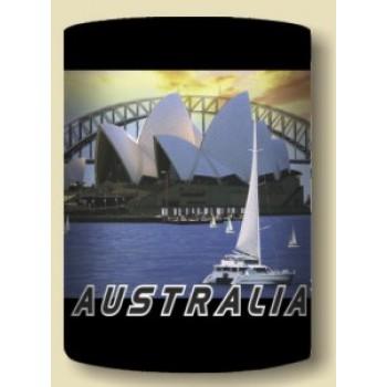 Australian Souvenir Stubby Holder - Sydney City