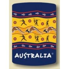 Australian Souvenir Stubby Holder - Aboriginal Tales
