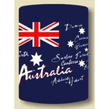 Australian Souvenir Stubby Holder - Australian Flag Style