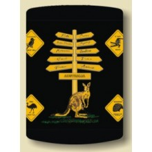 Australian Souvenir Stubby Holder - Road Signs