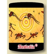 Australian Souvenir Stubby Holder - Aboriginal Art