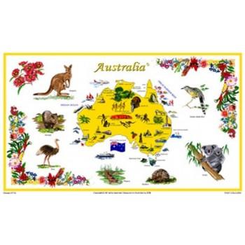 Souvenir Tea Towel - Australia