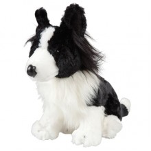 Border Collie Dog Plush Toy - 22cm