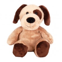 Cute Brown Dog Plush Toy - 22cm