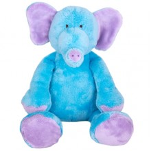 Blue Elephant Soft Toy - 30cm