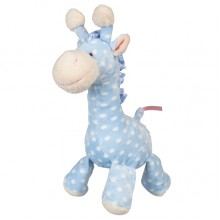Giraffe Baby Soft Toy with Rattle. Three colors. 20cm