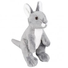 Kangaroo Small Soft Toy. Gerry Grey - 20cm
