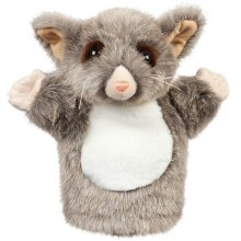 Possum Soft Toy - Percy - Hand Puppet 25cm