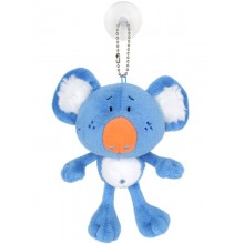 Koala Toy Tag with Suction - Blue