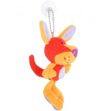 Kangaroo Toy Tag with Suction