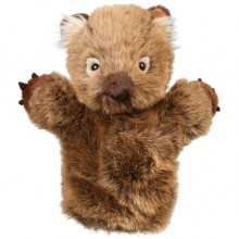 Wombat Soft Toy - Wolly - Hand Puppet