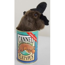 Canned Platypus Toy