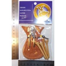 Kangaroo Scrotum Golf Gift Set